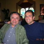 His long time friend Bahram Fazelli who is like an uncle to me.