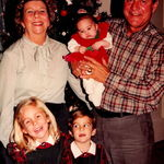 Papaw, Mama D, Emmy, Andrew and Miss Muffett