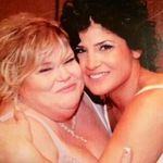 Phyllis and daughter Gina I Love You Mommy