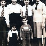 The Haris family (George, Evelyn, Adam, Eleni, Michael &amp; Gus)