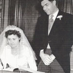 Kay and Glenn's Wedding 1954