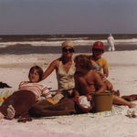 Calidisi Island back in the day...a mom and her boys :)