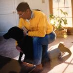 A lifelong dog lover-He loved his Lab Casey