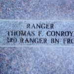 "Colonel Conroy's ""Army Ranger"" brick at the Fort Benning, GA Ranger Memorial"