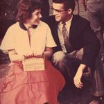 William, and Constance Jordan - June 1957 on M.I.T. campus.