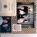 Senior Year Dinner: Martina, Erin, Kellie, Laura, Emily, Christine, Jen, Lucy & Shannon