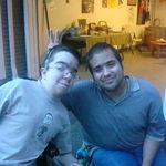 Matt & J.R.at J.R.'s House
