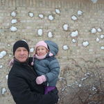 snowball fight in Troy, MI