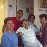 Mami Chenta, Mama Estela, Ivonne, Christina & Ricky
