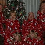 Jim Jr, Dee, Jim Sr, Kelly, Grace and Nicole