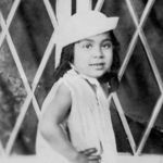 Lucy as a little girl