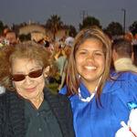 mom and crystal at crystals graduation