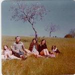 Hiking in Los Altos Hills 1974