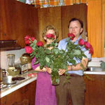 Russ gave Dee a dozen red roses every anniversary for 52 years