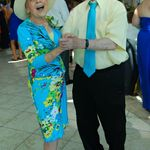 Dancing at Andy and Lindsay's wedding.  6-30-12