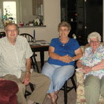 (Sister in Law) Ruth, Clarence and Geraldine