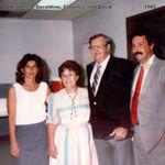 Kathleen, Geraldine, Clarence and David 1985