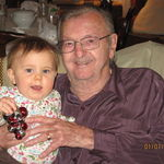 Great Granddaughter Audreys First Christmas, 2008