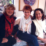 karen and mandy and wendy - friends....