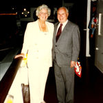 Mary & Ed Arnold, London Dinner Cruise 1997
