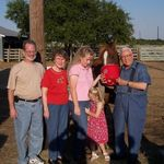 Dave, Grandma, Amanda, Kiley Jo, and Grandpa