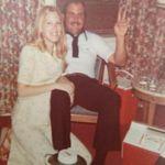 Joan and John Lake of the Ozarks 1976