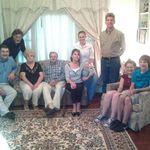 Roy, David, Nana, Pa, Kathleen, Amy, Jerome, Olivia and Jacob