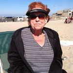 Aunt Norma Bolsa Chica State Beach July 2012