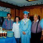 Dave, Marie, John, Kenneth Ward - John HS Grad
