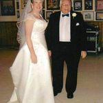 Grandpa at Amanda Nodays His 1st Grandchilds Wedding