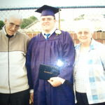 High School Graduation with the greatest grandparents to walk this earth. I love you both forever and always.