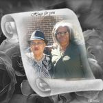Marvell and her sister Gretta in South Carolina for their mother funeral. Now two angels look down on us.