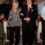 Escorting grandma to her front row seat at the wedding. A memory I'll never forget, and a moment I'll cherish forever.
