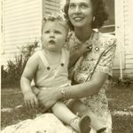 Gary and his Mother Margaret Munneke ~ 1948/1949