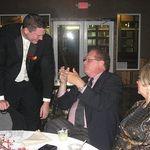 Stimulating Conversation and Cheers at Logan's Wedding