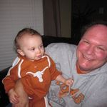 Aiden and Great Uncle BeBop 2010