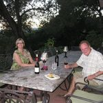 Gary and Sharon enjoying the California wine country for Sharon's Birthday  ~ summer 2010
