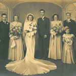 Austin and Rosella with their wedding party