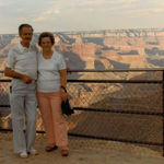 Austin and Rosella at the Grand Canyon, c. 1970s