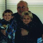 Grandpa with Brett and Brock