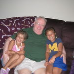 Grandpa with Kelly and Felicity