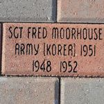 Brick at Veterans Memorial Park in Columbiaville