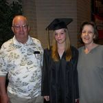 Grandpa with Taylor (Granddaughter) and Callie (Daughter)