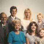 Lawrence, Judy, Melanie, Stephanie, Chip, Jason and Shawn 1986