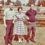Uncel Joe, Mom and Uncle Bill always had their pictures taken like this even way back when. What a great looking bunch.