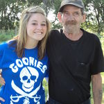 Courtney and Grandpa