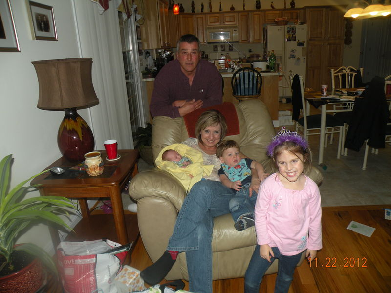 Debbie, Jerry and Grandchildren