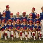 Another 69ers photo, I believe this was our first year as the 69ers (team named b/c everyone was born in 1969.   We were an awesome team and family due to a lot of dedicated parents and coaches!