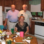 Arthur & Loretta with the late Mike DiStefano.  Great longtime friends.