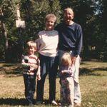 Mom, Dad, Matt, and Becky